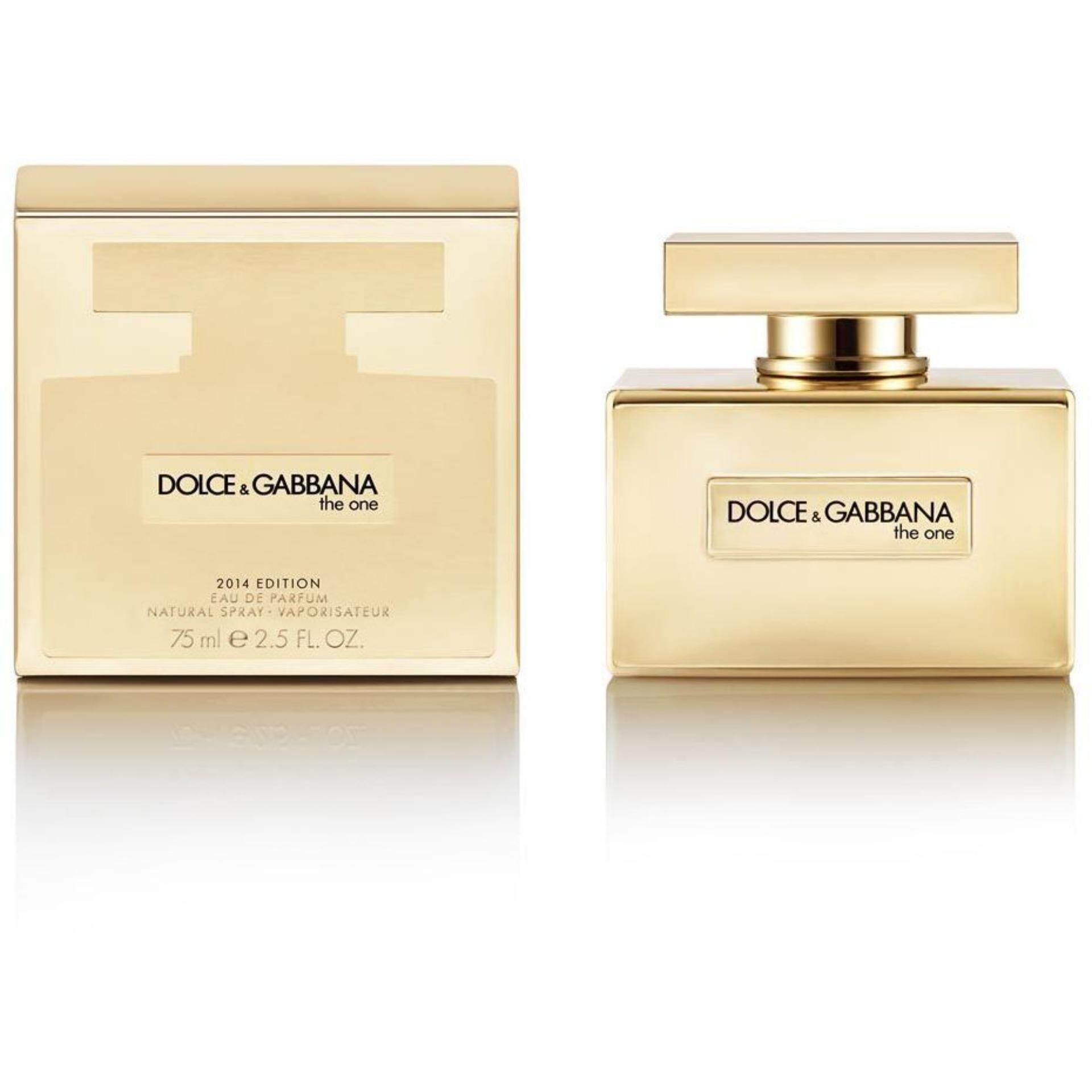 The One Gold Limited Edition by Dolce   Gabbaana for Women Eau de Parfum  75ml b3ed79a7e128