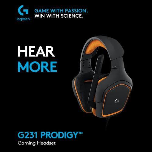 Logitech G231 Prodigy Gaming Headset By Lazada Retail Logitechalkjsbfljdsbfjs.