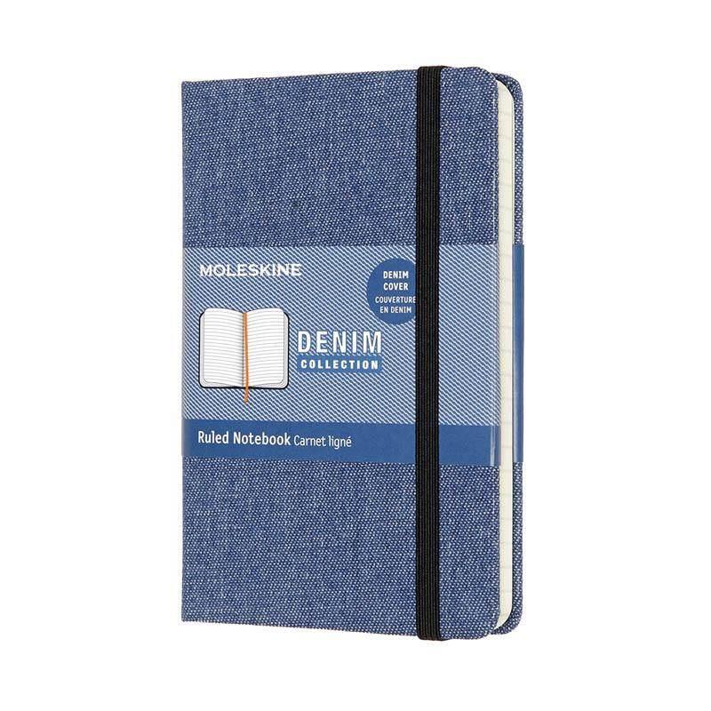Moleskine Denim Limited Edition - PRUSSIAN BLUE - Large - Ruled Malaysia