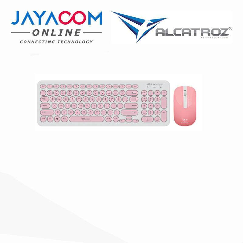 ALCATROZ JELLYBEAN A2000 WIRELESS KEYBOARD N MOUSE Malaysia