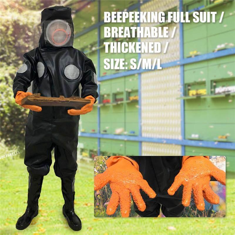 PU Full Beekeeping Bee Suit BeeKeeping Thickened Pervious Protective Easibee