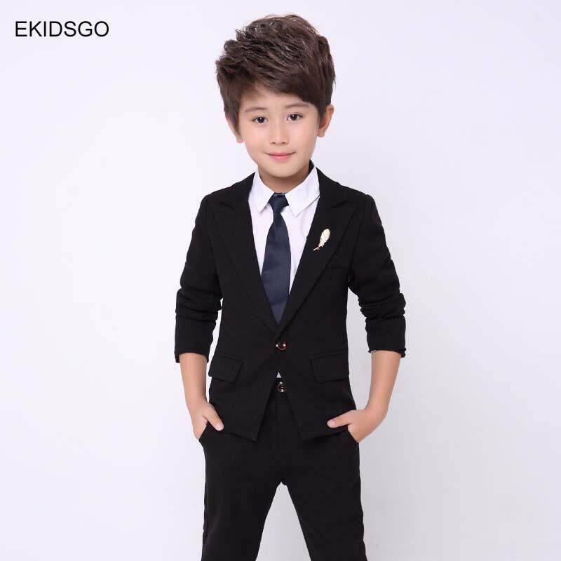 2018 Kids Jacket+Pants 2 pieces set Costume Big Boys Blazer Suits for  Weddings 2729c2b7c9b9