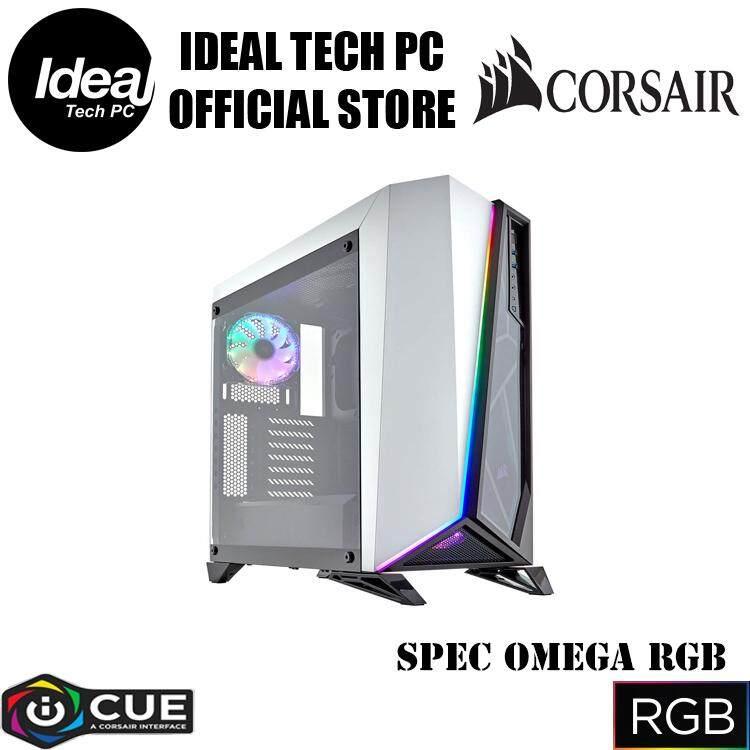 Corsair Spec Omega RGB TG (White+Black) Malaysia