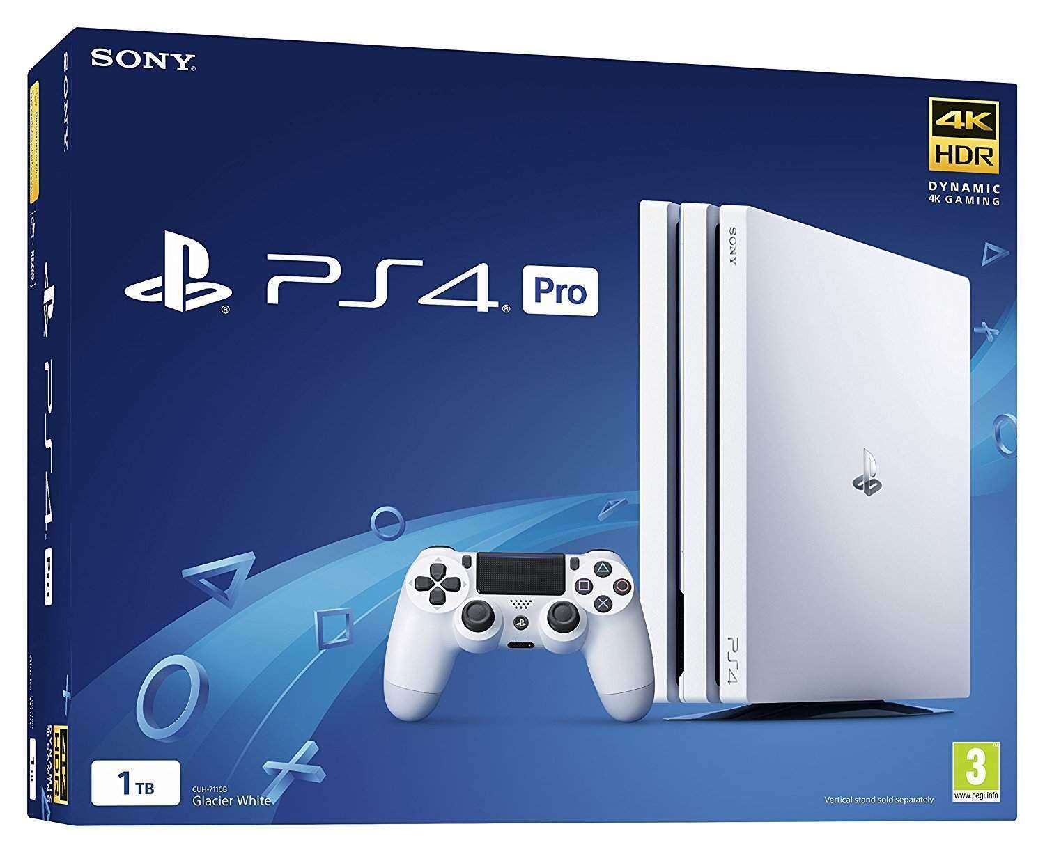 Sony PlayStation PS4 Pro 1TB 4K Console - White