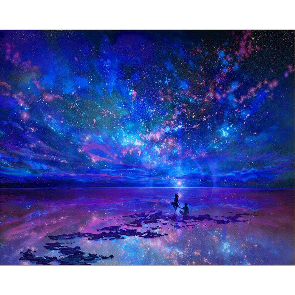 Diy Square Diamond Painting Love Night Sky Glittering Diamond Rhinestone Embroidery Cross Stitch Home Decor Gift By Fashion Cabinet.