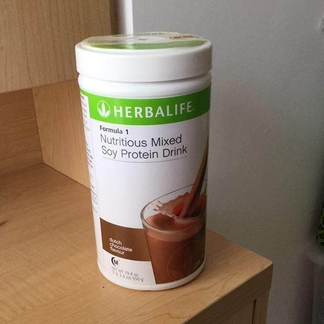 Herbalife Formula 1 (F1) Nutrition - Chocolate 550g (Ready stock) 100% Genuine