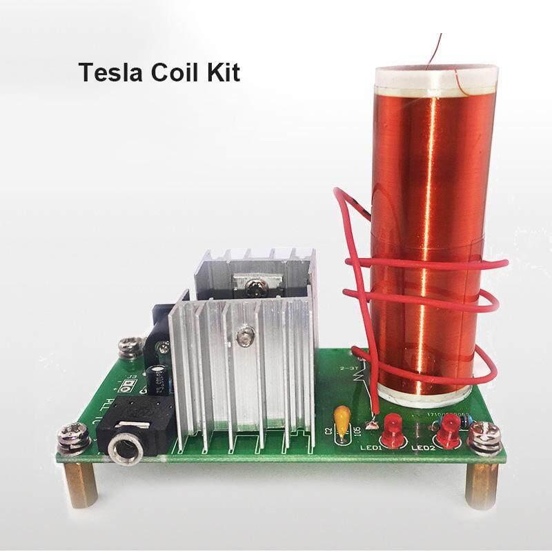 YBC Mini Electronic Coil DIY Kit Plasma Speaker Electronic 15W Kit for Tesla