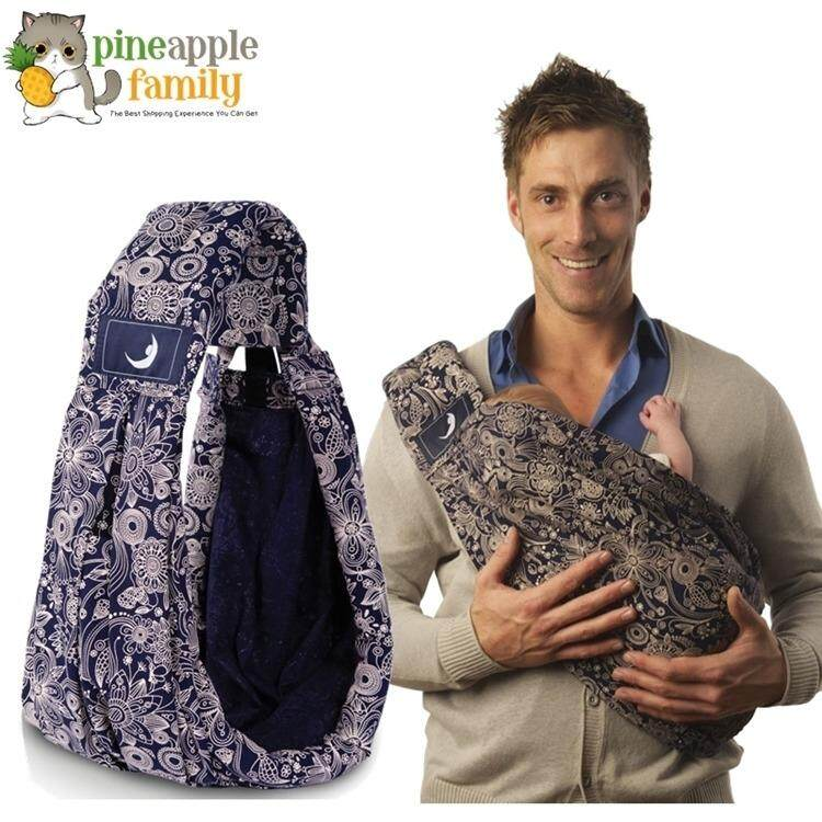 The Babasling 5 In 1 Baby Carrier- Free Your Hand With 5 Natural Positions By Pineapple Family.