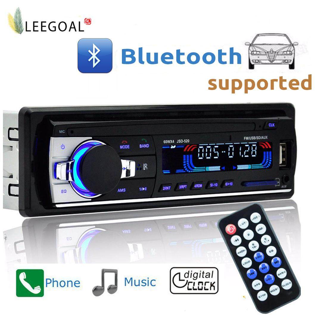 Car Stereo Receivers Buy At Best Price In Jvc Wiring Harness Power Plug Leegoal Wire Less Bluetooth Audio Dash Mp3 Player Support Aux