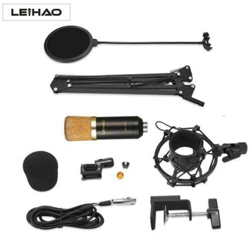 Leihao Bm - 700 Professional Condenser Microphone (black) By Ecart Marketing.