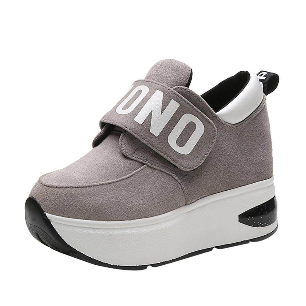 (kohlershop)-Women Outdoor Mesh Casual Sports Shoes Thick-Soled Increase Shoes Shake Shoes By Kohlershop.