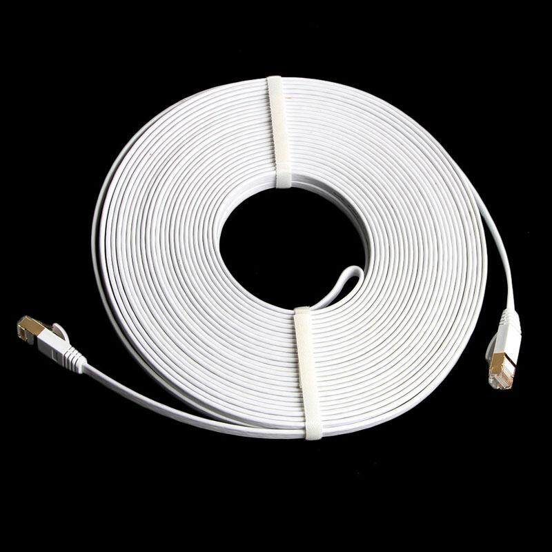Lot High Speed Durable 1 to 30m RJ45 Ethernet Network LAN Cat7 Cable Cord Lead
