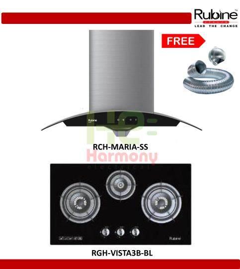 New Rubine 1200 M³ Hr Sensor Touch Cooker Hood Rch Maria Ss