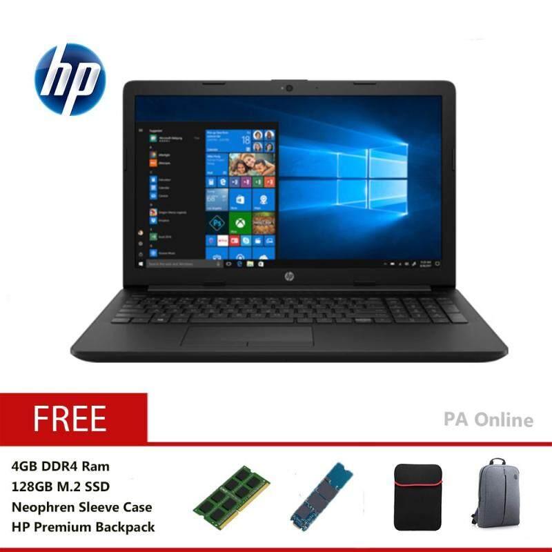 HP 15-da0006TX -128GB SSD- Intel Core i5-8250u/8GB DDR4 /128GB SSD+1TB HDD/15.6 FHD LED/2GB NVD MX110/Win 10/2 Years Malaysia