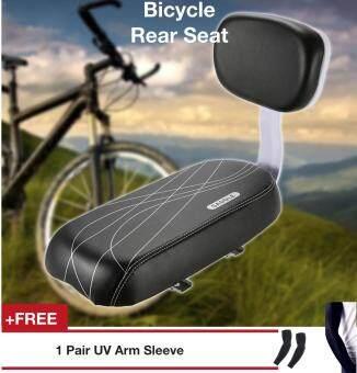 Bicycle Back Seat Cycling Bike Bicycle MTB PU Leather Soft Cushion Rear Rack Seat Children Seat