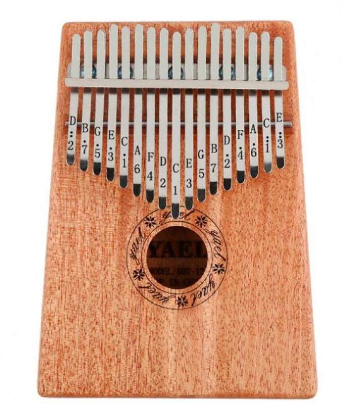Portable 17 Key Finger Kalimba Mbira Pocket Thumb Piano Solid Acacia Wood Musical Instrument Supporting Bag Keyboard Malaysia