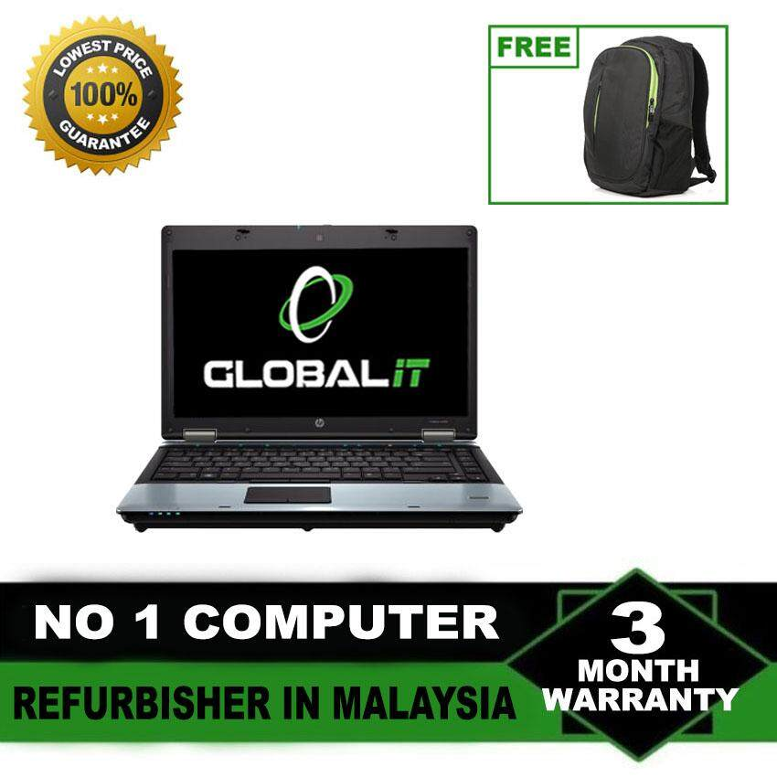 (Refurbished Notebook) HP Probook 6550b 15.6 inch Laptop / Intel Core i5-450M / 250GB Hard Disk / 4GB Ram / DVD Writer / WIndows 7 / Special Offer Malaysia