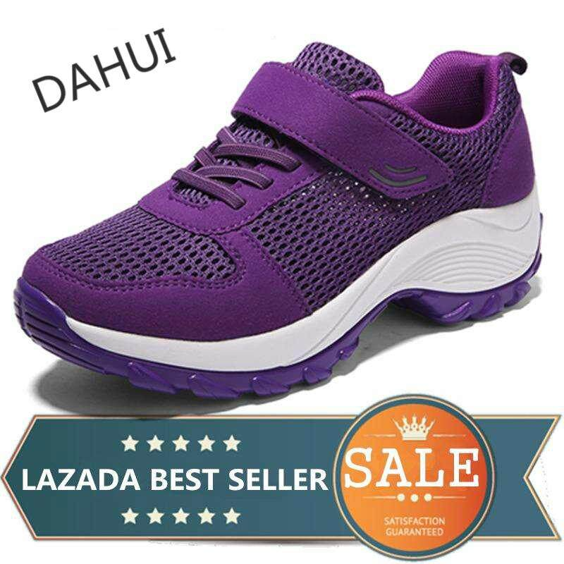 15f6897bf40 Women s Shoes Sneakers Heighten Shoes Slip-On Casual Shoes Dance Sports  Shoes (Purple)