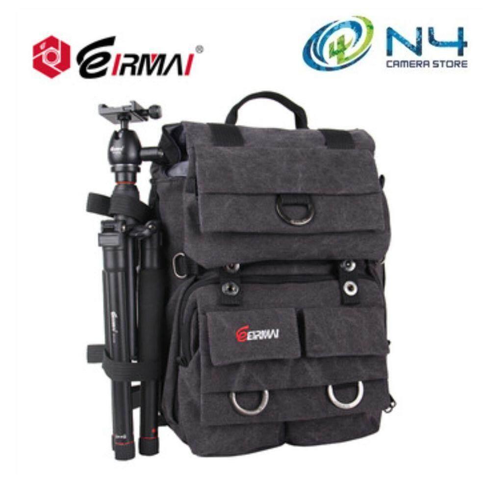 Eirmai Fashion Dslr Camera Bag Emb Sd02 Backpack Grey