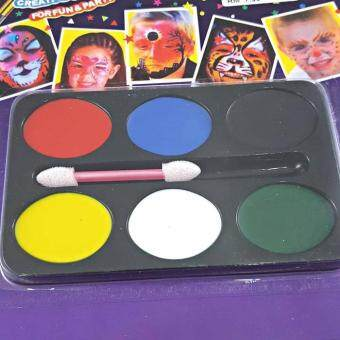Festival Party 6 Colours Make Up Face Body Paint Palette Fancy Painting Kit