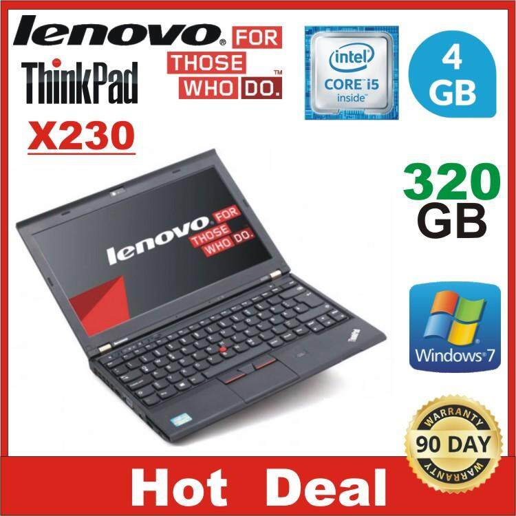 (Refurbished) LENOVO THINKPAD X230 CORE I5 V-PRO / 4GB / Malaysia