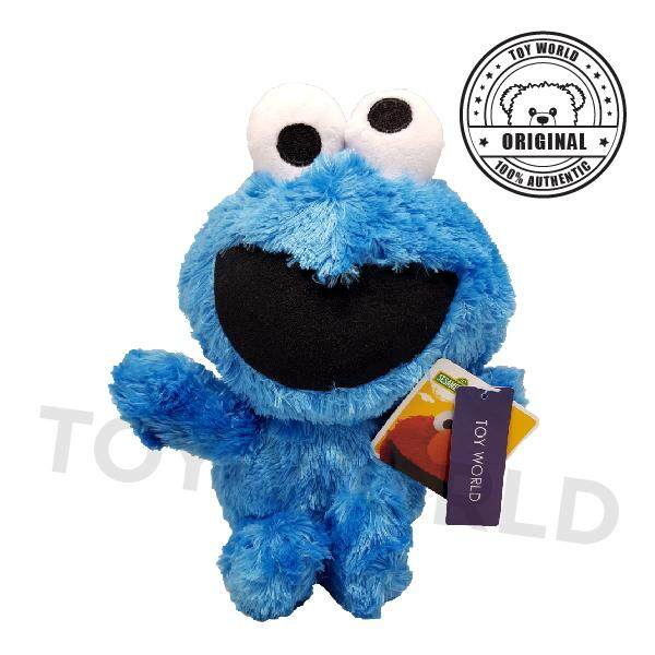 "Toy World Sesame Street Baby Cookie Monster 10 "" plush toy (Original  Licensed) a68944858"