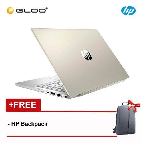 HP Pavilion 14-ce0084TX/ 14-ce0085TX Laptop (i7-8550U 4GB 1TB 128SSD MX130 2GB)(Silver/ Gold) Malaysia