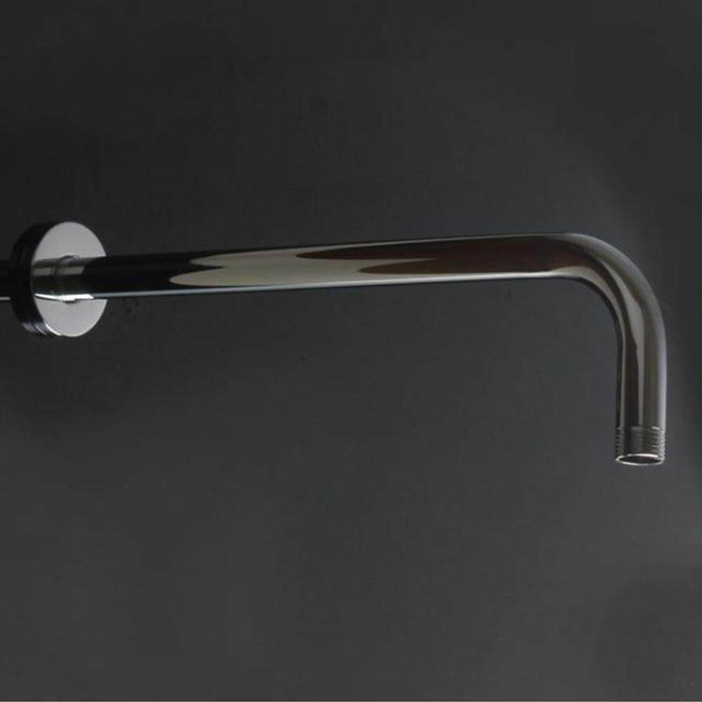 YS Wall Shower Head Extension Bend Pipe Tube Long Stainless Steel Arm Bathroom Home Shower Rod