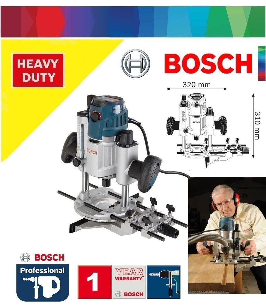 Bosch GOF 1600 CE Plunge Router c/w Parallel Guide, Plunge Router