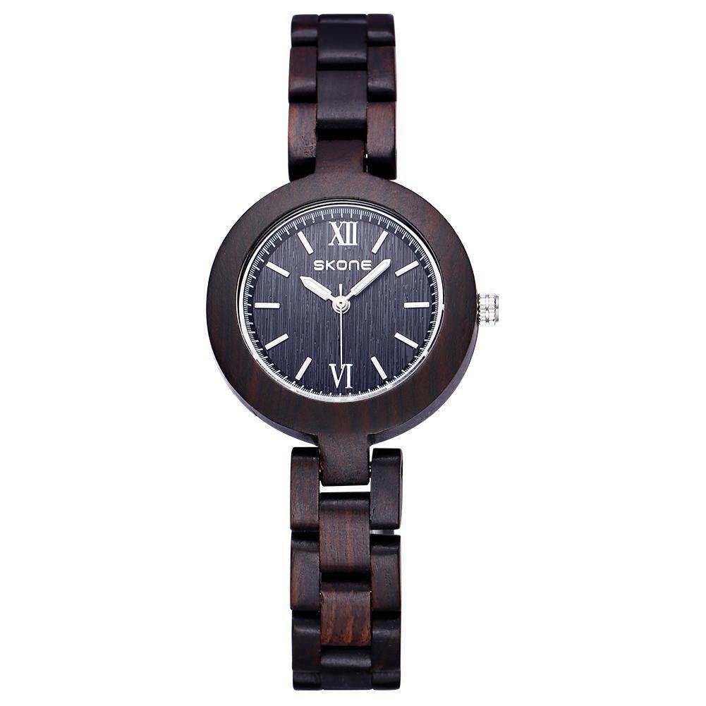 ... authentic high-end watches ebony wood bracelet watch Ms. (brown)MYR115. MYR 117