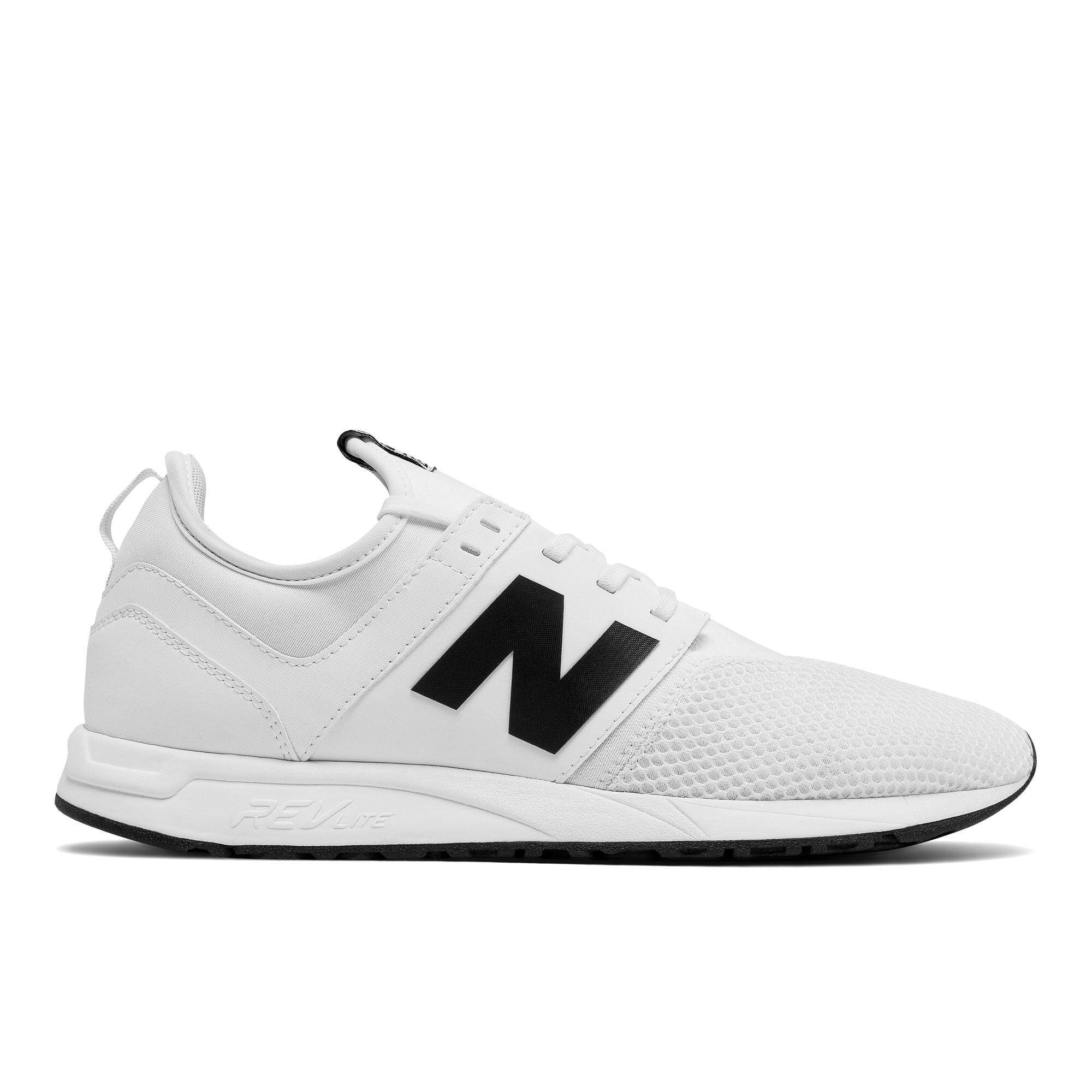promo code 8d7d8 d07ff New Balance Men s Lifestyle Shoes - 247 Classic (White Black)