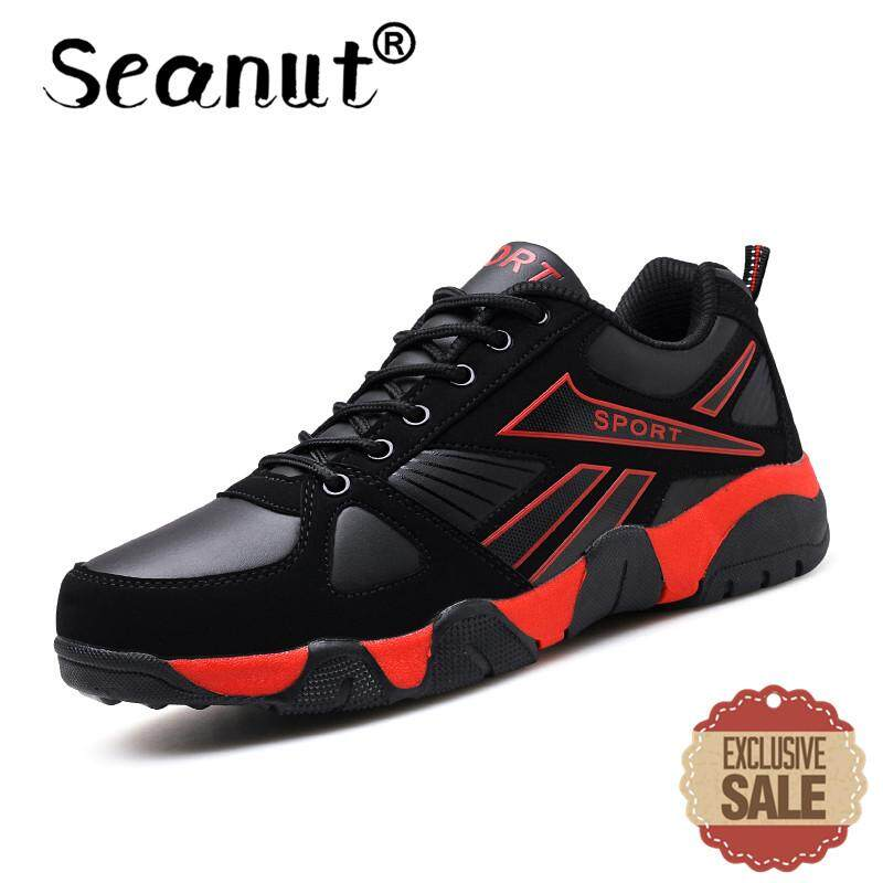 09c920d41ef Seanut Men s Basketball Shoes On Court Wearable Cushioning Sneakers Sport  Shoes Training Basketball Ankle Boots for