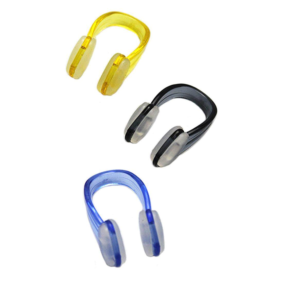 3 Pcs Swimming Nose Clip Diving Protector Plastic Nose Clip By Yomichew.