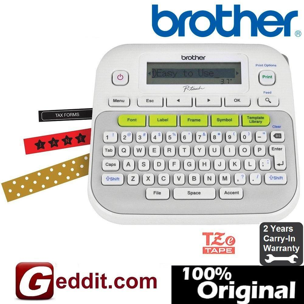 Brother P-Touch Pt-D210 Desktop Labelling Machine D210 Ptd210 By Geddit Dot Com.