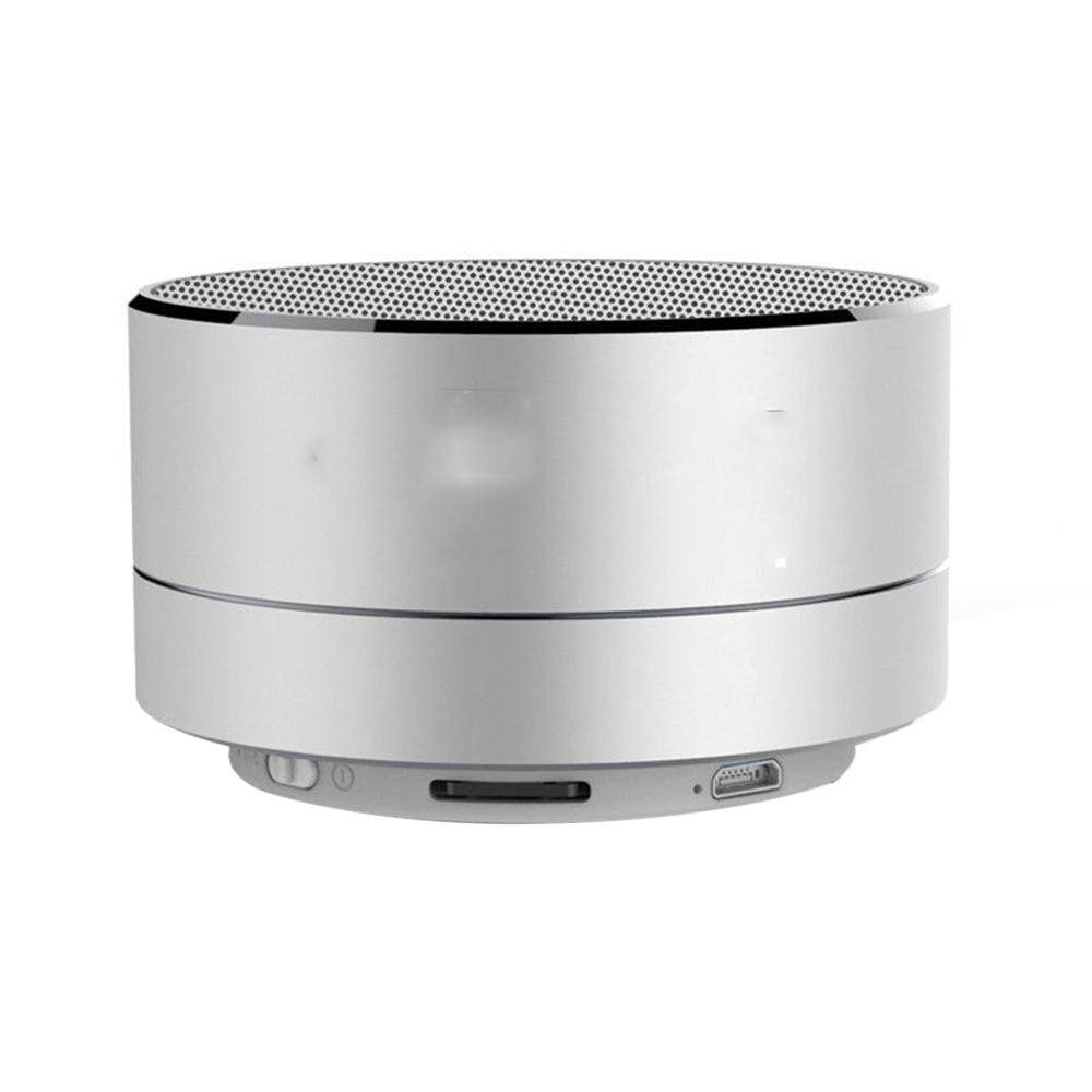 Womdee Mini Portable Bluetooth Wireless Speaker Super Bass For Tablet PC MP3 Smartphone, Silver