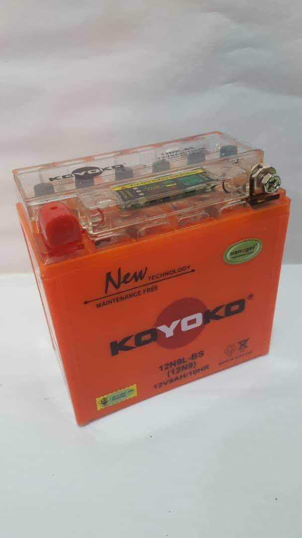 Koyoko Battery • (12n9l-Bs) Modenas Jaguh By K.k Motorspareparts.