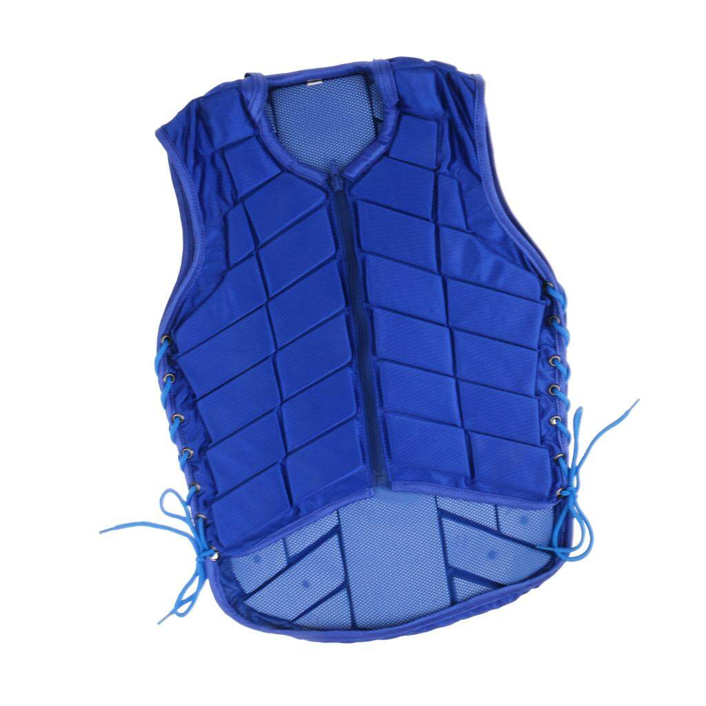 Flameer Safety Vest Horse Riding Vest Equestrian Body Protector Adult Xxxl Sky Blue By Flameer.