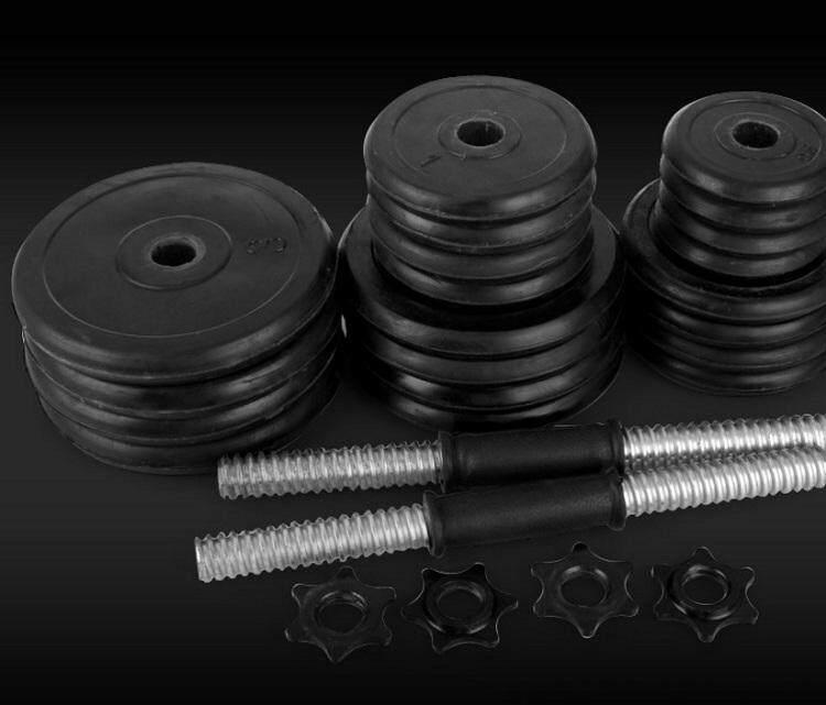 Lazada Dumbbell Set: ASURA Fitness 10kg Rubberised Dumbell Set