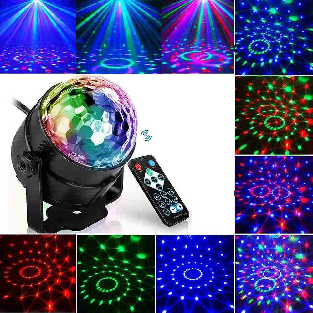 Betes Rgb Stage Lighting Effect Lamp Light Dj Disco Ball Lumiere 3w Sound Activated Laser Projector 7 Colors By Betes.