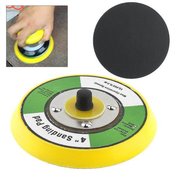 4 Inch Professional 12000RPM Smooth Surface Double-acting Random Orbital Sanding Pad for Polishing and Sanding