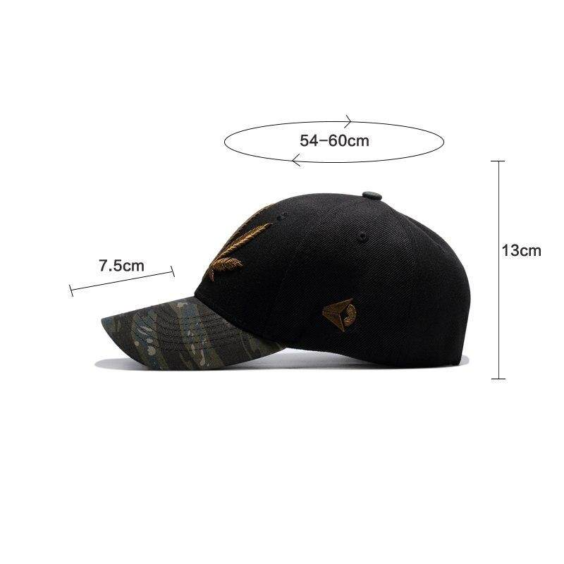 Product details of Women Snapback Hats Gorras Militares Hombre Army  Camouflage Sport Cap Embroidery Leaves Male Adjustable Baseball Cap bdc1cd8b5a4