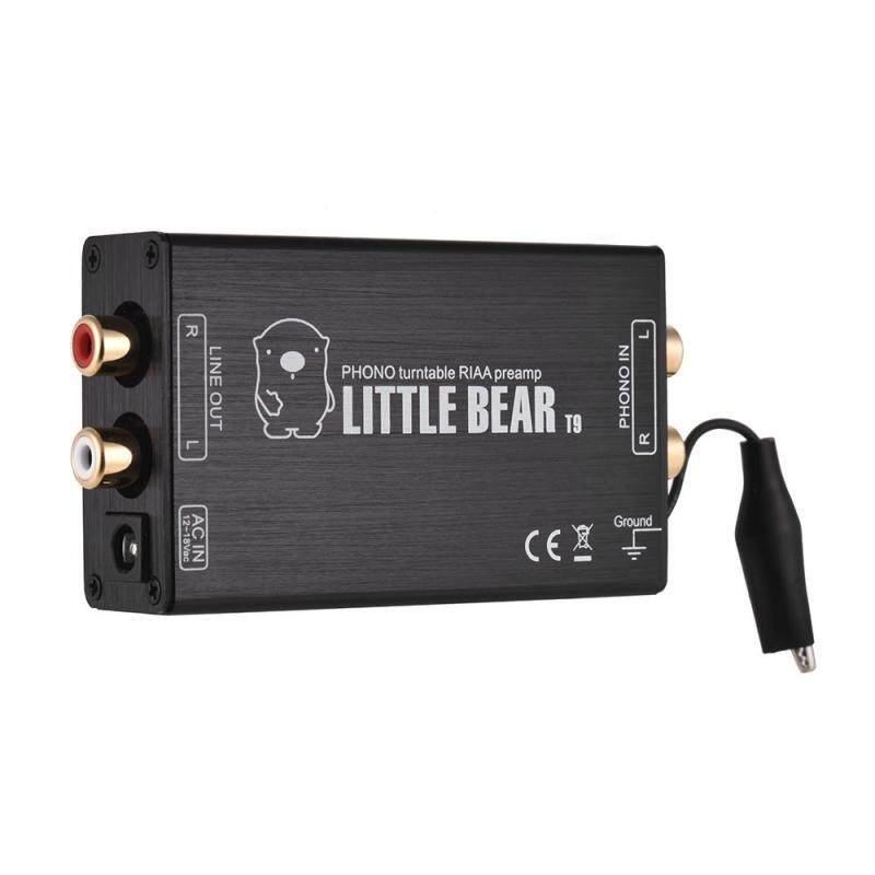 Mini MM Phono Preamp Preamplifier with RCA Input & Output Interfaces Aluminum Alloy Malaysia
