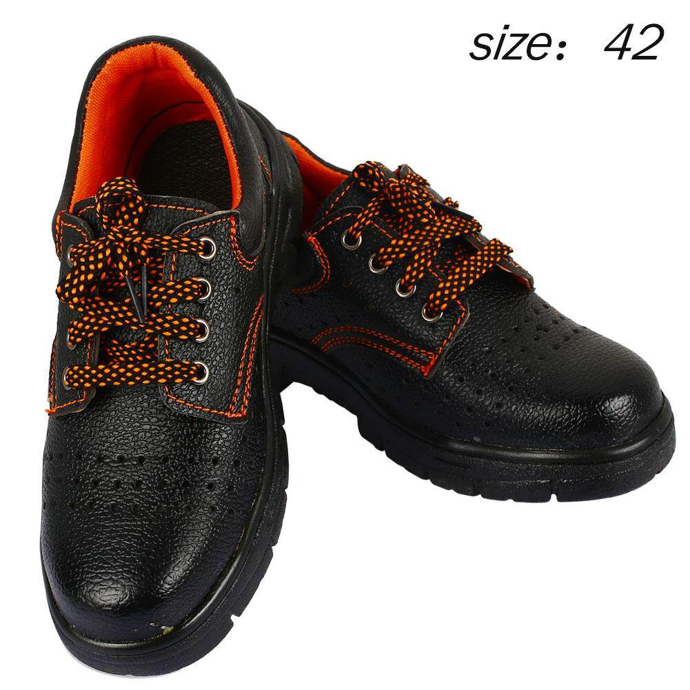 Safety Shoes Steel Safety MenS Boots Safety Gum-Elastic Steel Outdoor Breathe Freely 39