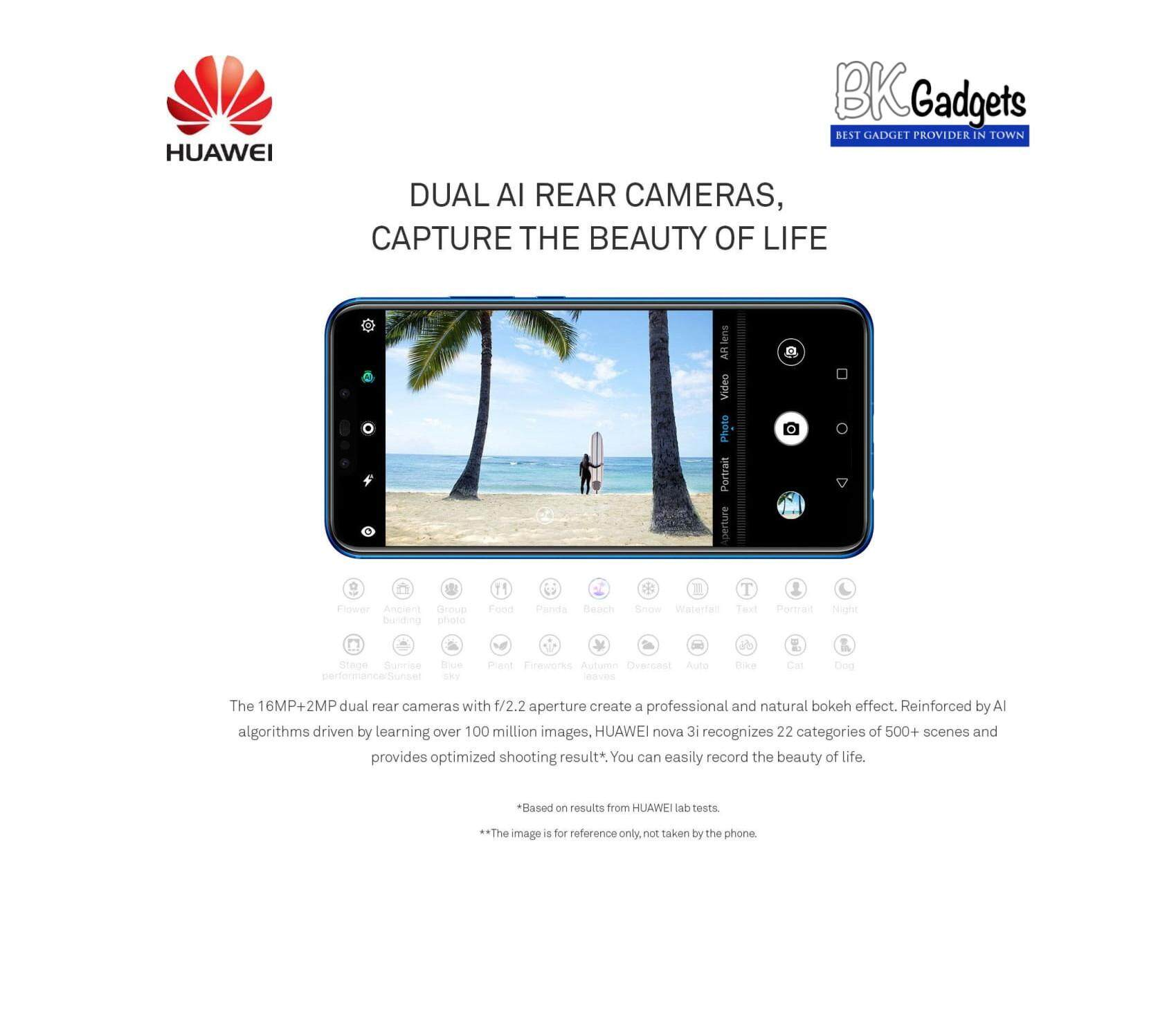 Huawei Nova 3i 4/128GB Purple - Original from Huawei Malaysia 1 Year Warranty
