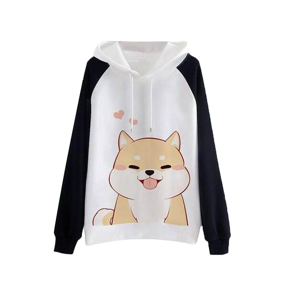 52daa79949c8e Specifications of 2019 Hansonshop Women's Color Block Long Sleeve Tunic  Sweatshirt Tops Kangaroo Pocket