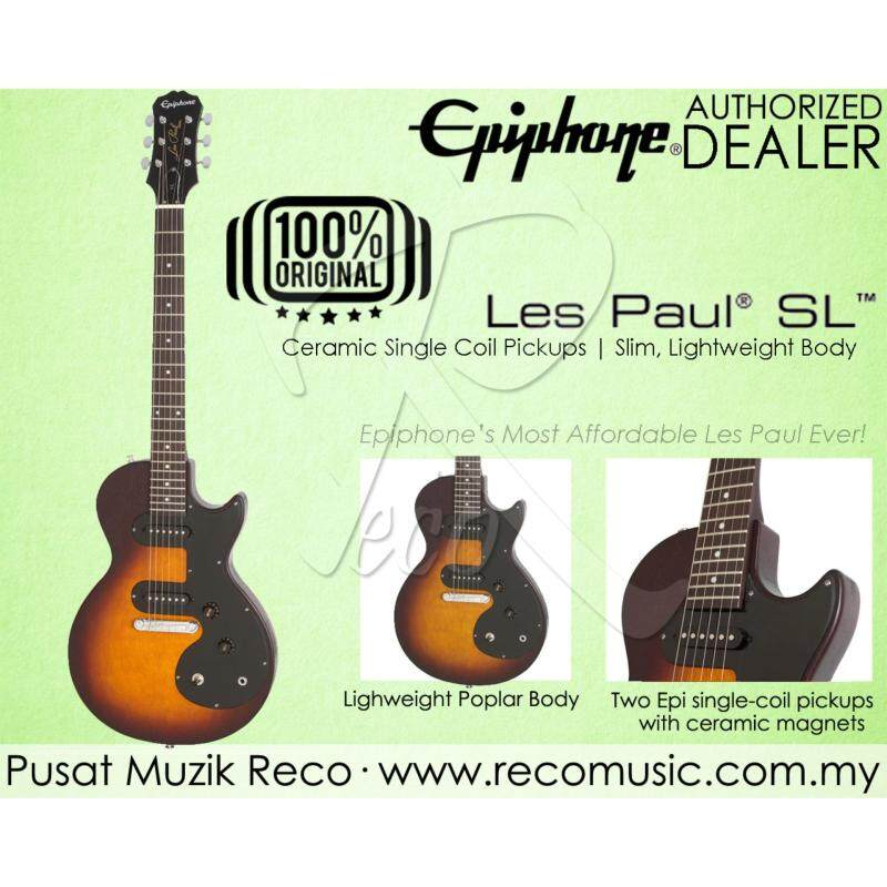 Epiphone Les Paul SL Electric Guitar VS - Vintage Sunburst Malaysia