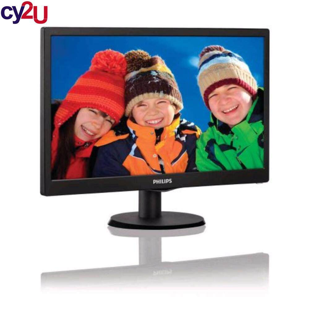 PHILIPS 193V5LHSB2 18.5 WIDESCREEN LED MONITOR WITH HDMI Malaysia