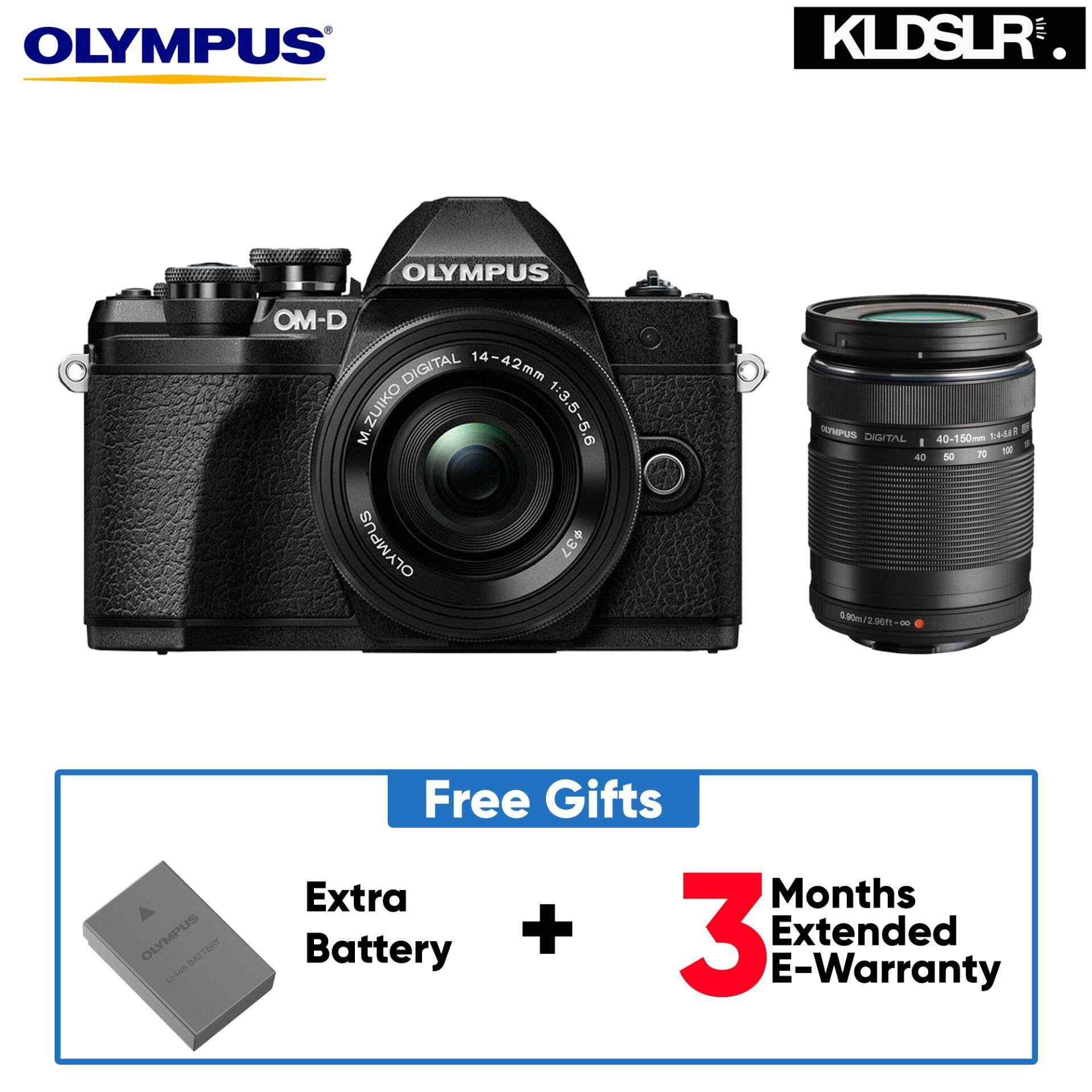 Olympus OM D E M10 Mark III Mirrorless Micro Four Thirds Digital Camera with