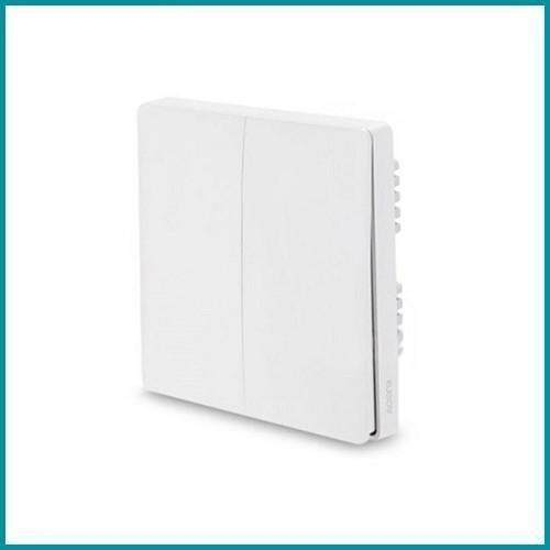 Xiaomi Smart Aqara Wall Switch Dual Zigbee By Kpapa Ventures.