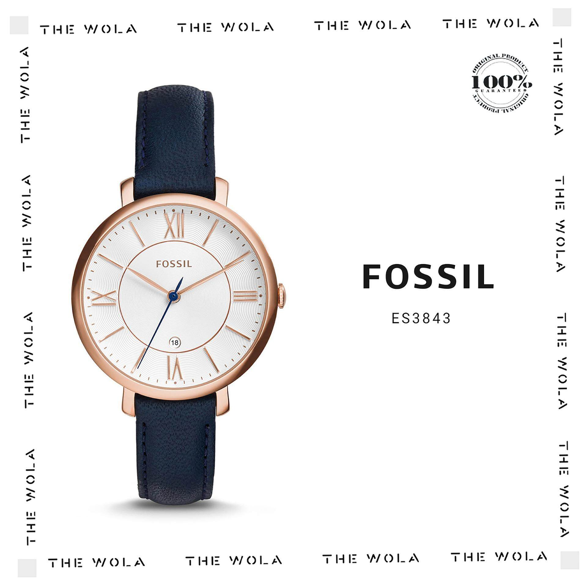 Fossil Watches Price In Malaysia Best Lazada Es3815 Jam Tangan Wanita Original Casual Women Watch Es3843 Genuine 2 Years Warranty